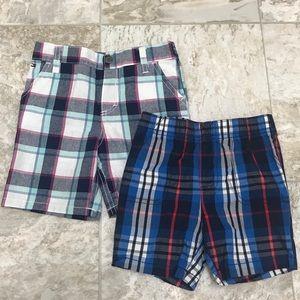 Bundle (2) Of Plaid Shorts Size 24M